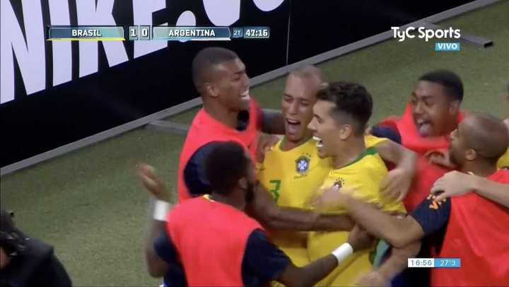 Brasil lo ganó sobre la hora