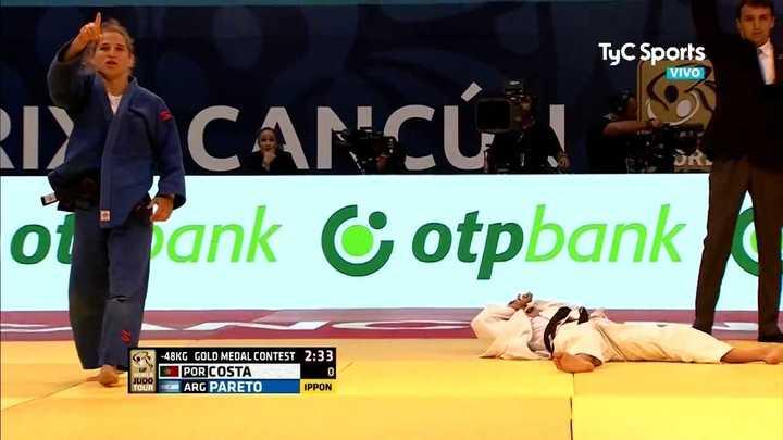 Peque Pareto salió campeona en el Grand Prix de Cancún