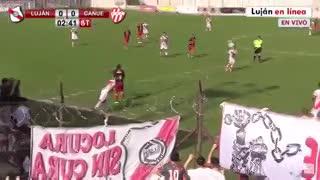 Los goles de Luján 1 - Cañuelas 1