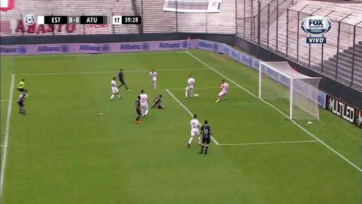 Andujar evitó el gol de Nuñez