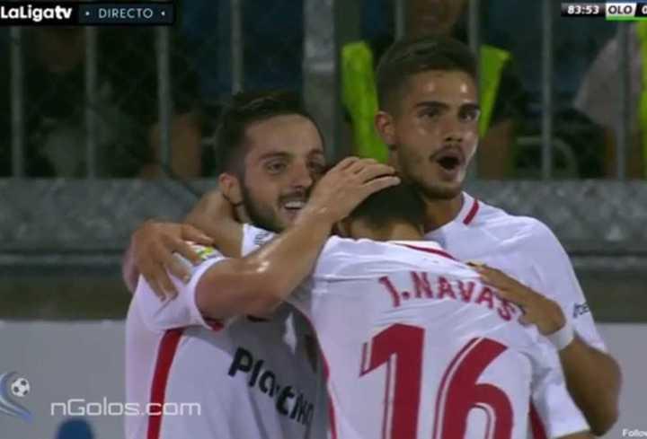 El gol del Sevilla al Sigma