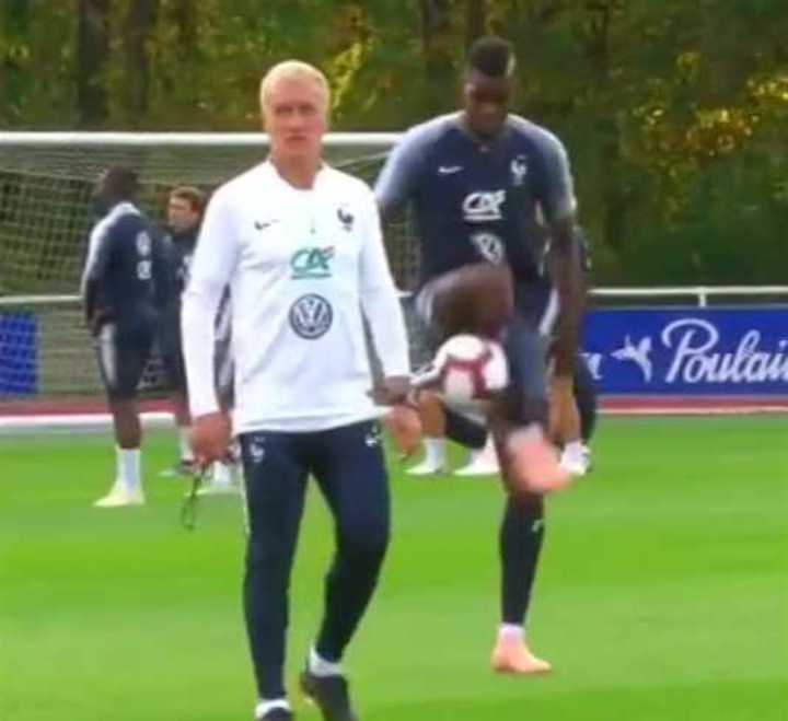 A Pogba no se le cae ni pensando en Mourinho