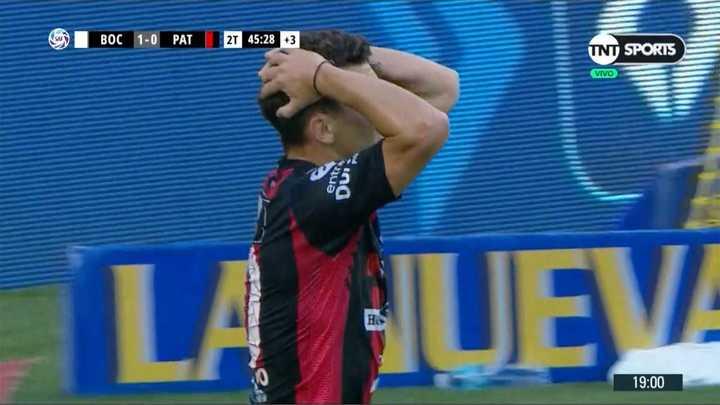 Andrada salvó a Boca sobre el final