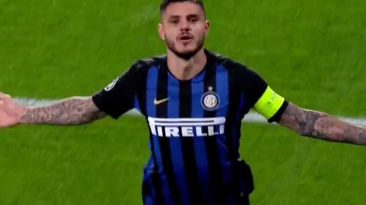 Icardi marcó el segundo del Inter