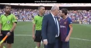 Messi y la amarilla que vio al final