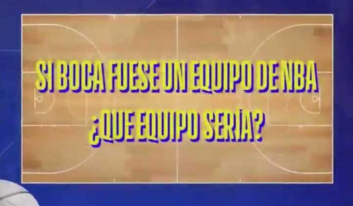 ¿Qué equipo sería Boca en la NBA?