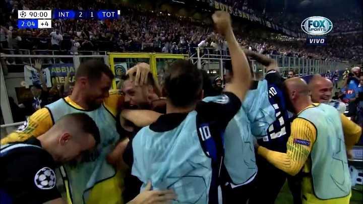 ¡El uruguayo lo dio vuelta!