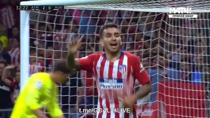 Koke para el 3 a 0 del Atlético