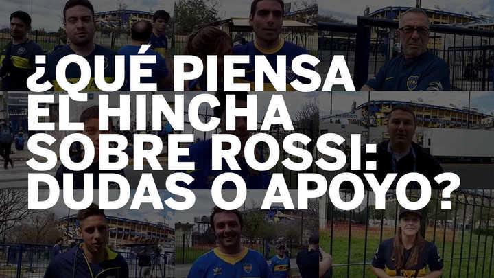 ¿Qué piensa el hincha sobre Rossi: dudas o apoyo?
