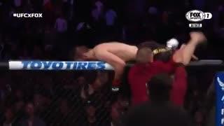 Batalla campal en la UFC