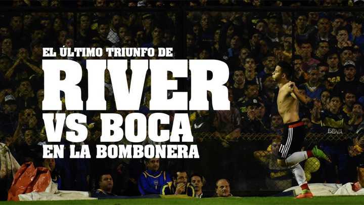 La última vez que River silenció a la Bombonera