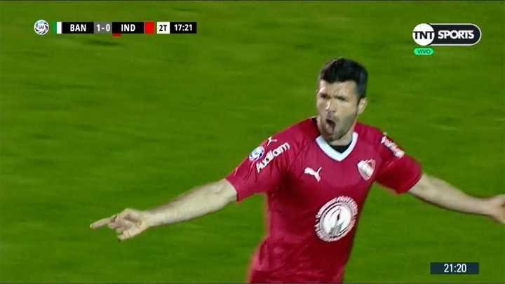 Gigliotti empató el partido