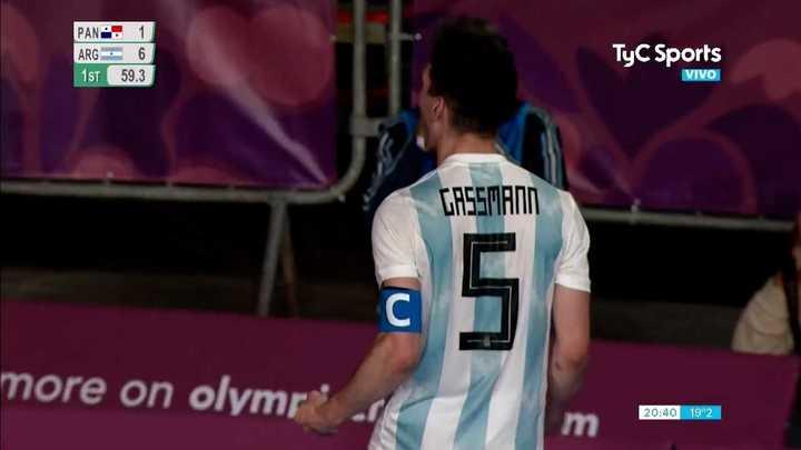 Argentina goleó a Panamá en el primer tiempo