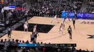 Lo mejor del triunfo de los Spurs ante los Warriors