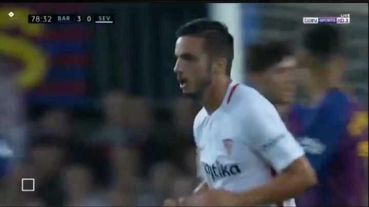 Sarabia descontó para Sevilla