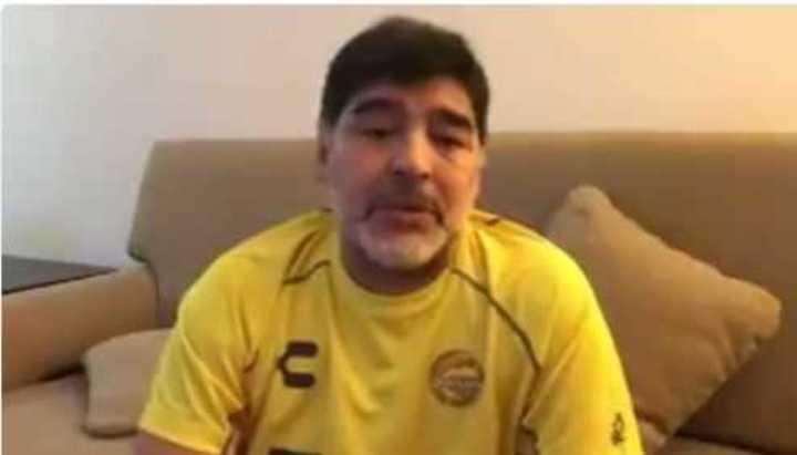 El gran gesto de Maradona