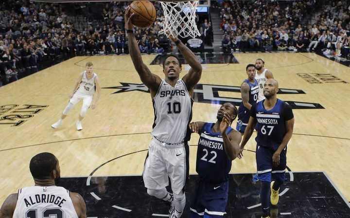 Los Spurs sufrieron pero vencieron a Minnesota