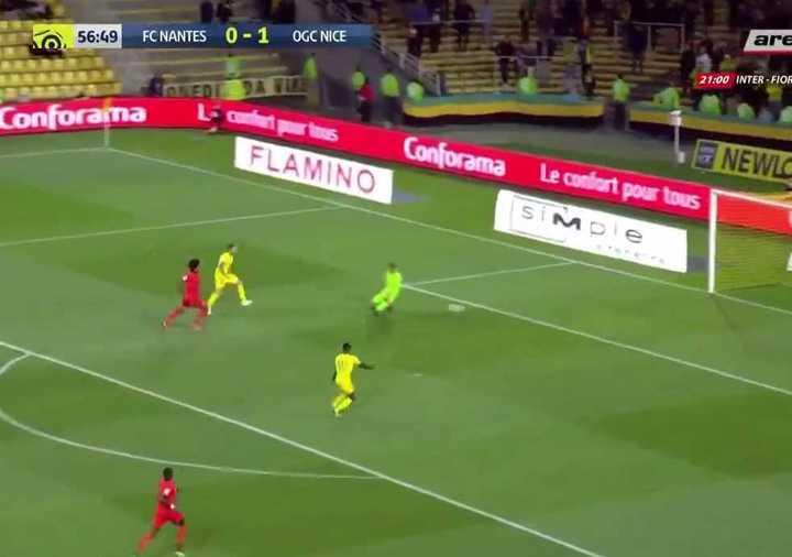 El gol de Emiliano Sala al Niza