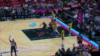 El show de LeBron James en Miami