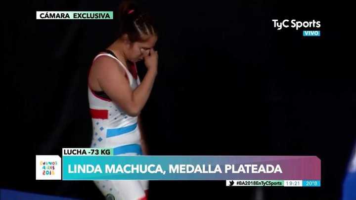 Una argentina se quedó con la plateada en Lucha