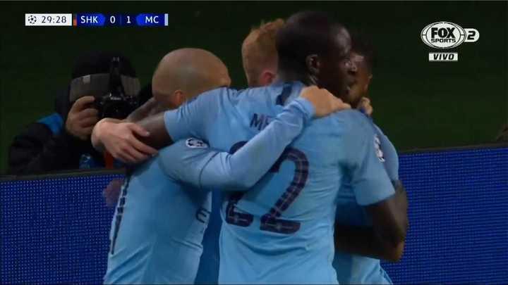 Gol de David Silva para el Manchester