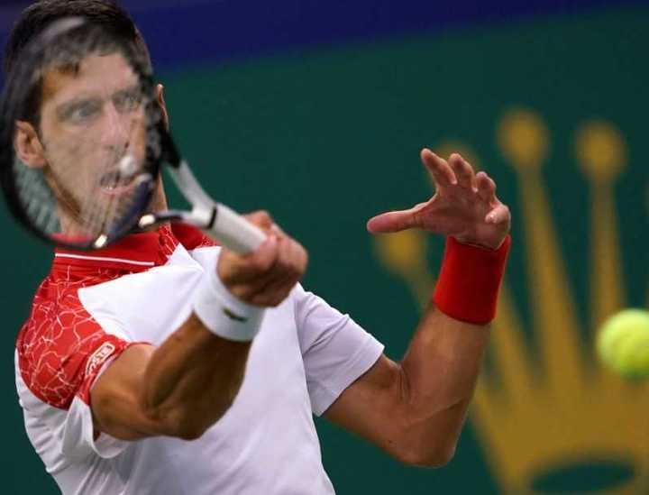 Djokovic se metió en la final de Shanghai y quedará 2° del ranking ATP