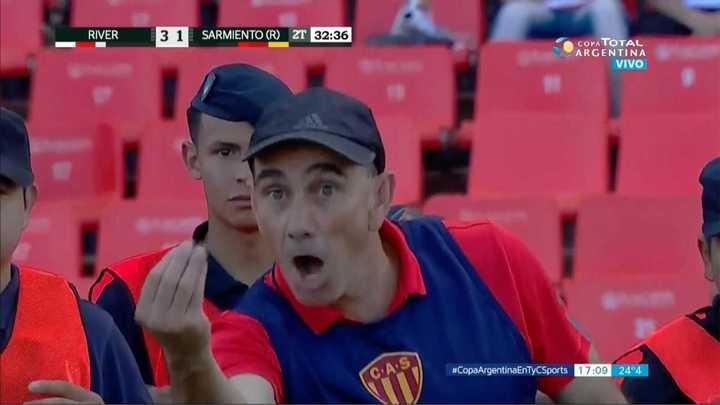 Se enojó Raúl
