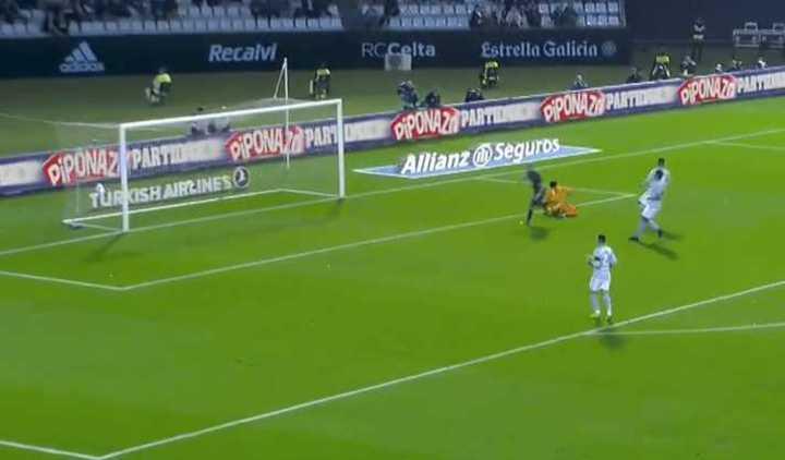 Real Madrid le ganó 4-2 a Celta