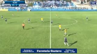 Matías Mena marcó el 2-0