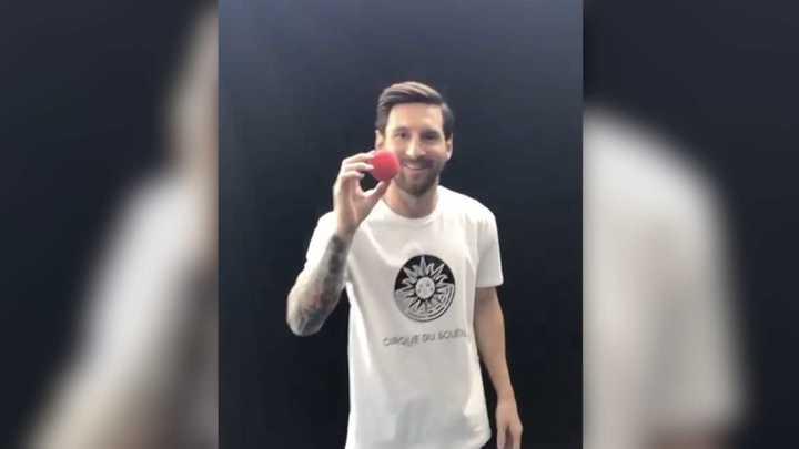 Leo Messi tendrá su espectáculo con el Cirque du Soleil