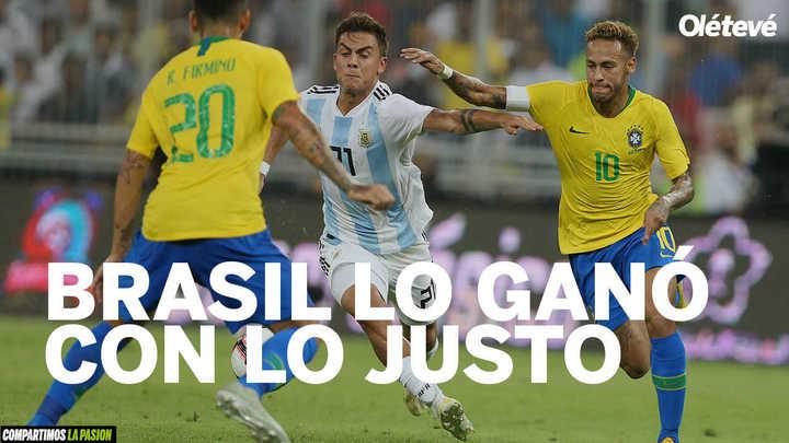 Lo mejor de Argentina - Brasil