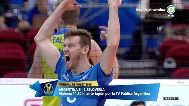 Cristian Poglajen le dio el punto de la victoria a la Selección sobre Eslovenia