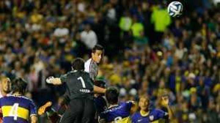 El gol de Funes Mori a Boca