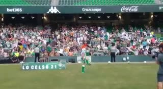 Lo Celso hizo jueguito y el estadio se vino abajo