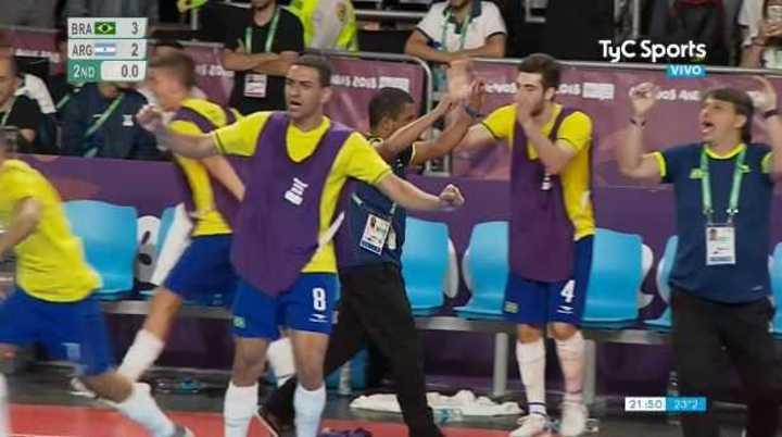 Brasil lo gano 3 a 2