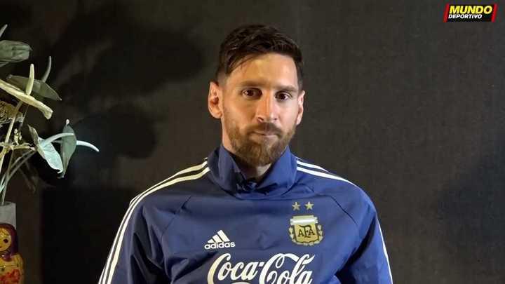 Messi habló de todo