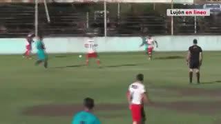 Los goles de Argentino (Q) 1 - Luján 1