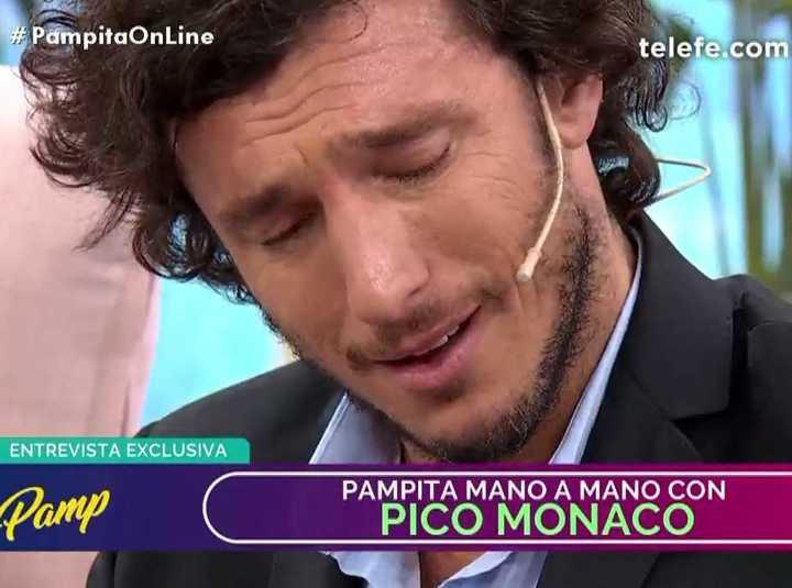Pico lloró en el programa de Pampita