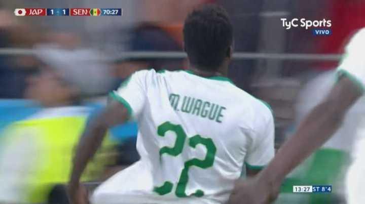 Senegal sorprendió y pasó al frente