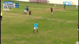 El 4-0 de Argentino de Quilmes a Central Córdoba
