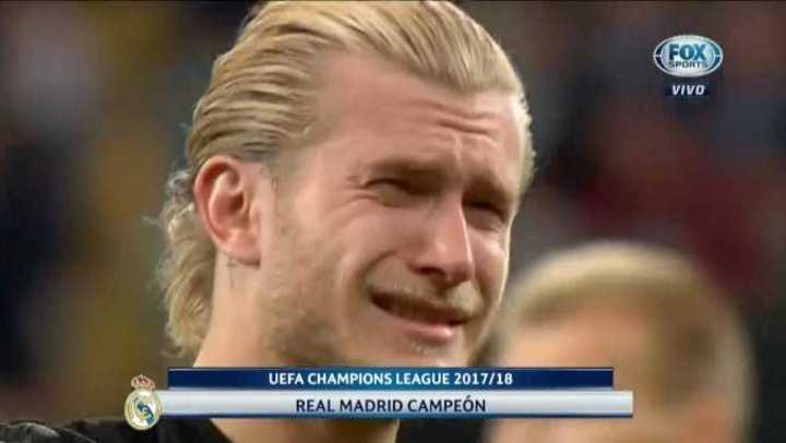 Desconsuelo de karius en el final