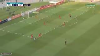 Gol de Dudu para el Palmeiras.