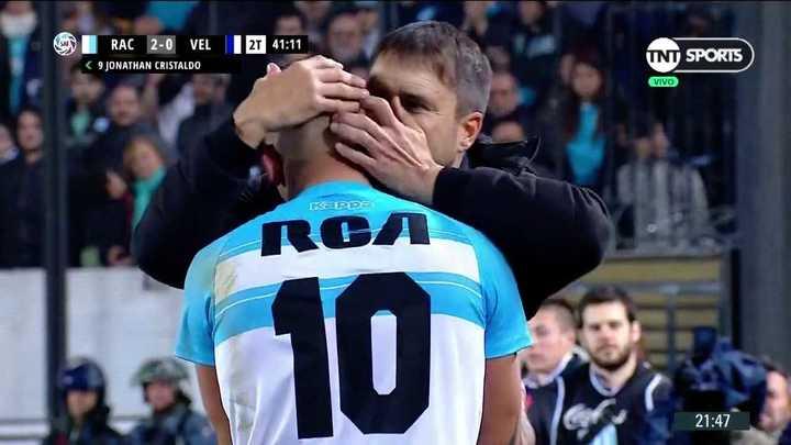 Abrazo de gol