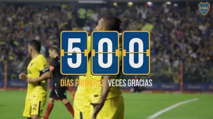 500 días puntero