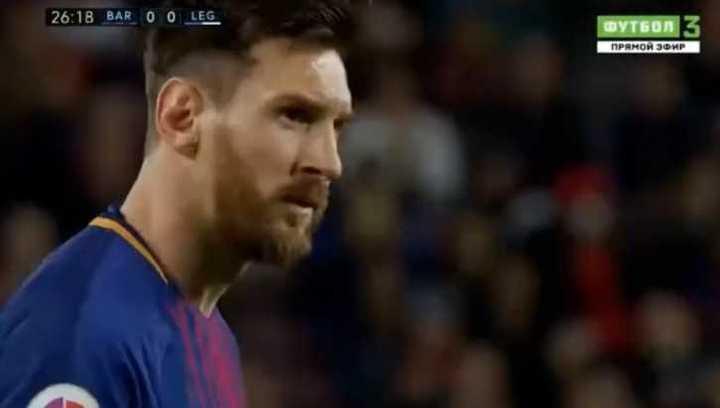 Los tres goles de Messi ante Leganés