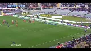 Gol y emotivo homenaje de Vitor Hugo para Astori