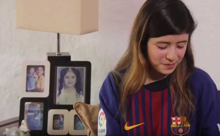 Ximena, la guatemalteca que pudo cambiar camiseta con Messi