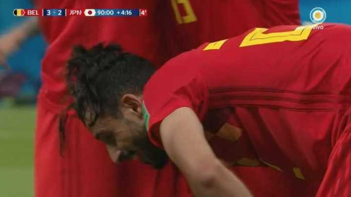 Gol de Bélgica: Un partido para el infarto