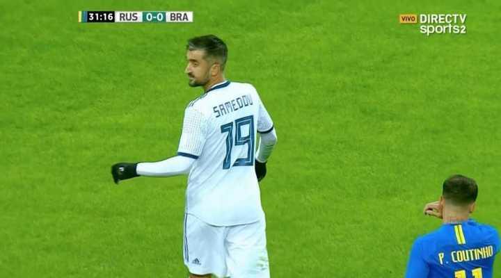 Samedov no pudo gritar el primero de Rusia