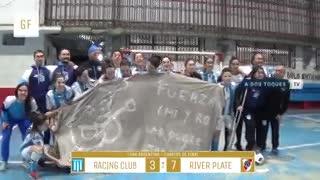 Las chicas de River vencieron 7-3 a sus pares de Racing